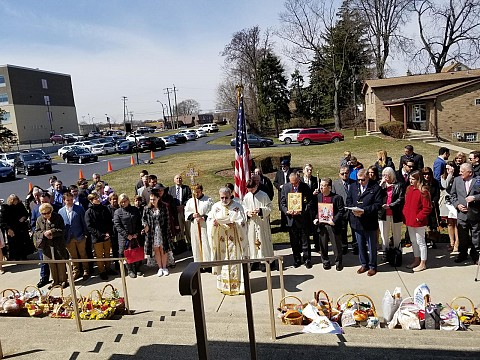 Blessing of Food Baskets